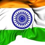Flag of India — Stock Photo