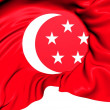 Standard of the President of Singapore — Foto Stock