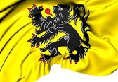 Flag of Flanders — Stock Photo