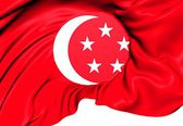 Standard of the President of Singapore — Stock Photo