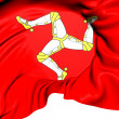 Isle of Man Flag — Lizenzfreies Foto