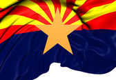 Flag of Arizona, USA. — Stock Photo