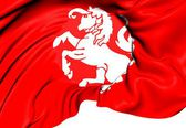 Flag of Twente, Netherlands. — Foto Stock