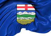 Flag of Alberta, Canada. — Stock Photo