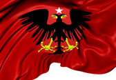 Principality of Albania (1914) Flag — Stock Photo