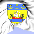Abidjan Coat of Arms, Cote d'Ivoire. — Stock Photo