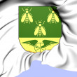 Alvesta Coat of Arms, Sweden. — Stockfoto