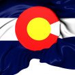 Flag of Colorado, USA.  — Foto de Stock