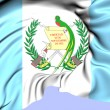 Flag of Guatemala — Stock Photo