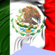 Flag of Mexico — Stock Photo #30775699