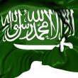 Flag of Saudi Arabia — Stock Photo