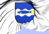 Alvkarleby Coat of Arms, Sweden. — Stock Photo