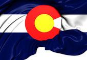 Flag of Colorado, USA. — Stock Photo