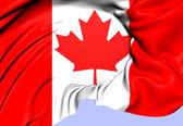 Flag of Canada — Stock Photo