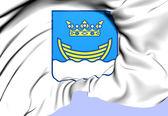 Helsinki Coat of Arms, Finland. — Stock Photo