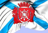 Rio de janeiro bayrağı — Stok fotoğraf