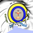 Cruz de los Milagros Coat of Arms, Argentina. — Stock Photo