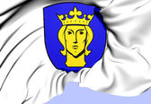 Stockholm Coat of Arms, Sweden. — Stock Photo