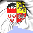 Anhalt-Bitterfeld Coat of Arms, Germany. — Stock Photo #32492033