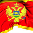 Flag of Serbia and Montenegro — Stock Photo