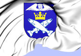 Angelholm Coat of Arms, Sweden. — Stock Photo