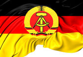 Flag of German Democratic Republic — Stock Photo