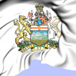 Stock Photo: Alberta Coat of Arms, Canada.