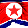Flag of North Korea — Stok fotoğraf