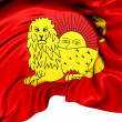 Stock Photo: Flag of Fath Ali Shah