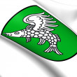 Weng im Innkreis Coat of Arms, Austria.  — Stock Photo