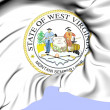 West Virginia State Seal, USA. — Stock Photo