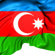 Flag of Azerbaijan — Stock Photo #33647429
