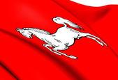 Elektorat hanoweru flagi — Zdjęcie stockowe