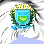 Mato Grosso do Sul Coat of Arms, Brazil. — Stock Photo