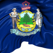 Flag of Maine, USA. — Stock Photo #35004213