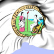 State Seal of North Carolina, USA. — Stock Photo