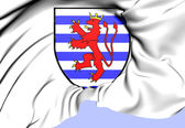 City of Luxembourg Coat of Arms — Stock Photo