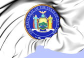 State Seal of New York, USA. — Stock Photo