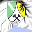 Saxon Switzerland-East Ore Mountains Coat of Arms — Stock Photo
