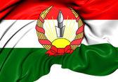 Republic of Mahabad Flag — Stock Photo