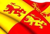 Sons of Glyndwr Flag — Stock Photo