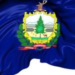 Flag of Vermont, USA. — Stock Photo
