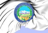 Anaheim Coat of Arms, USA. — Stock Photo