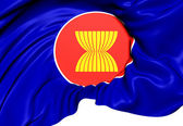 ASEAN Flag — Stock Photo