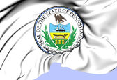 State Seal of Pennsylvania, USA. — Stock Photo
