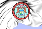 State Seal of Michigan, USA. — Stock Photo