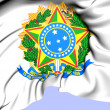 Brazil Coat of Arms — Stock Photo #37656941