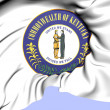 Stockfoto: State Seal of Kentucky, USA.