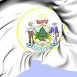 State Seal of Maine, USA. — Stock Photo