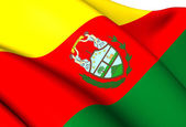 флаг боливии (1826-1851) — Стоковое фото